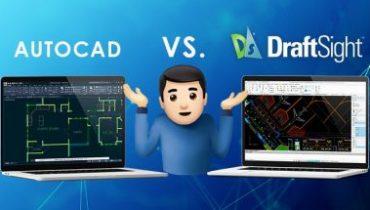 DraftSight pret AutoCAD