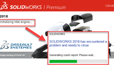 Working with SOLIDWORKS and Windows 1809 version update